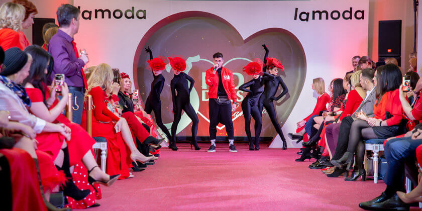 Red Dress & Lamoda